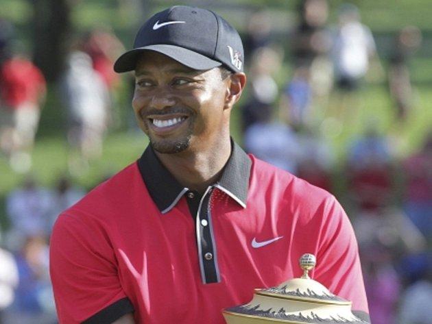 Tiger Woods triumfoval na turnaji v Akronu.