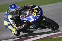 Jakub Kornfeil v GP Kataru.