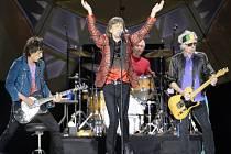 Legendární britská rocková skupina Rolling Stones.