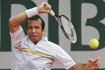 Radek Štěpánek na Roland Garros.