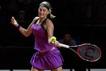 Petra Kvitová na turnaji ve Stuttgartu.
