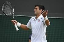 Novak Djokovič na Wimbledonu