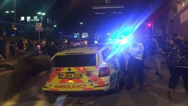 Exploze v Manchesteru