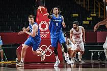 Čeští basketbalisté porazili na OH tým Íránu.