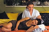 Co bude dál? Martha Issová se svojí televizní maminkou Evou Holubovou.