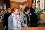 Iva Janžurová, Marta Kubišová a Dagmar Havlová na křestu videoklipu k písni Modlitba pro Martu