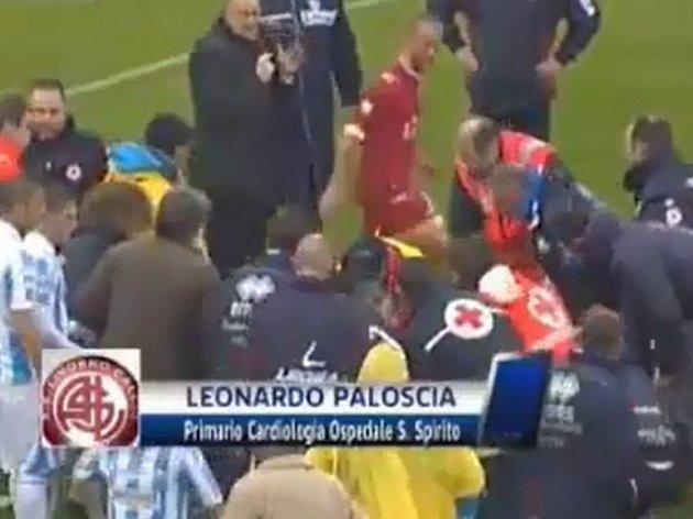 Piermario Morosini zemřel poté, co zkolaboval během utkání na hřišti Pescary.