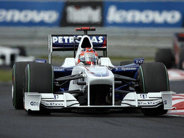 Robert Kubica skončil na maďarském Hungaroringu až třináctý.