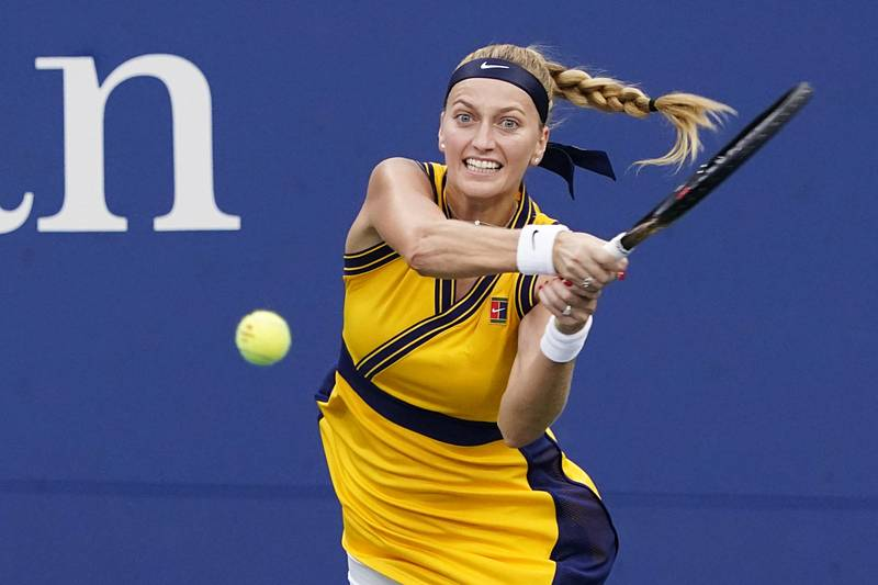 Tenistka Petra Kvitová v Indian Wells.