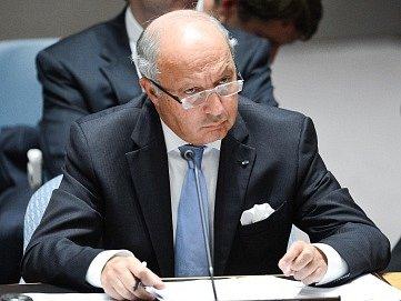 Francouzský ministr zahraničí Laurent Fabius.