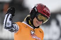Česká snowboardistka Ester Ledecká