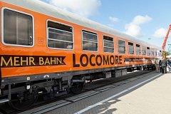 Vlak společnosti Locomore