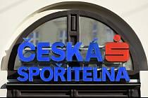 Logo České spořitelny.