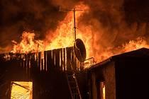 Ubytovna pro sociálně znevýhodněné hořela 2. ledna také v německém městě Apolda.