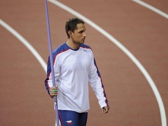 Vítězslav Veselý v olympijské kvalifikaci.