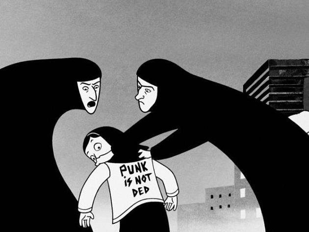 Snímek Persepolis francouzské režisérky Marjane Satrapi