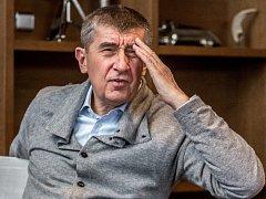 """VADÍM VŠEM. Andrej Babiš je přesvědčen, že kauza Čapí hnízdo je kampaň jeho nepřátel. """"Jsem chyba v systému,"""" říká."""