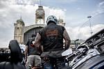 Příznivci americké motocyklové značky Harley-Davidson se sešli 5. července na pražkém Výstavišti, aby oslavili 115. výročí značky.