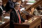 Jednání Sněmovny o žádost o vyslovení souhlasu s trestním stíhání poslanců Andrej Babiš a Jaroslava Faltýnka 19. ledna v Praze. Grospič