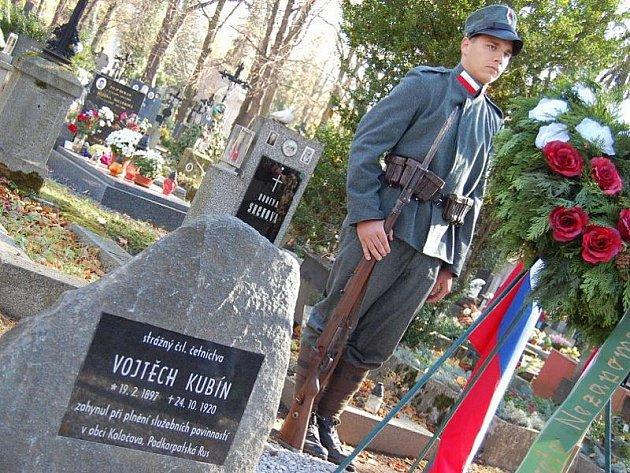 V Příbrami ve středu 27. října 2010 opět odhalili pomník četníka Vojtěcha Kubína, který zahynul 24. října 1920 při plnění služebních povinností v obci Koločava v Podkarpatské Rusi.