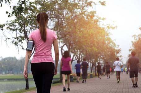 Chozením si upevníte zdraví.