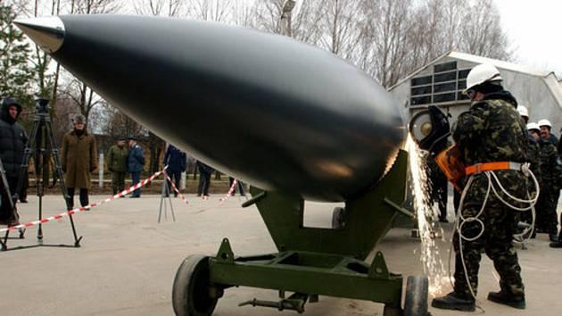 Likvidace sovětské rakety X-22, která je schopná nést jadernou hlavici.