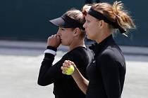 Lucie Šafářová a Bethanie Matteková-Sandsová