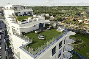 Bytový dům Sky Barrandov od Evy Jiřičné