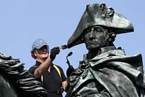 Socha George Washingtona