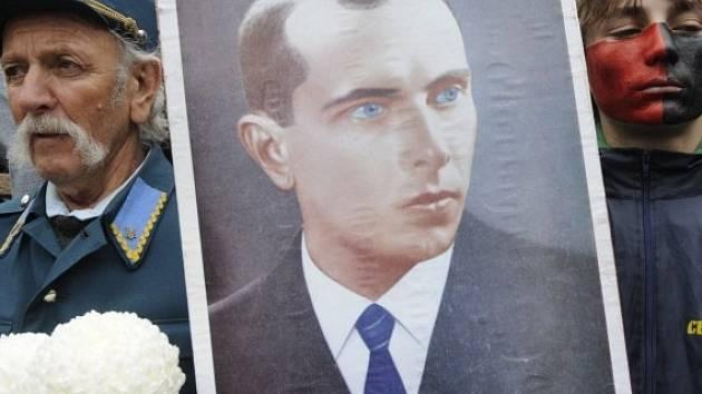 Vůdce ukrajinských nacionalistů za dob druhé světové války Stepan Bandera.