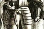 Vyobrazení svatého Václava v kronice Václava Hájka z Libočan