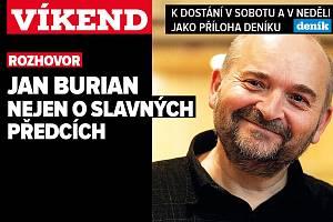 Písničkář a spisovatel Jan Burian. Poutání na magazín Víkend