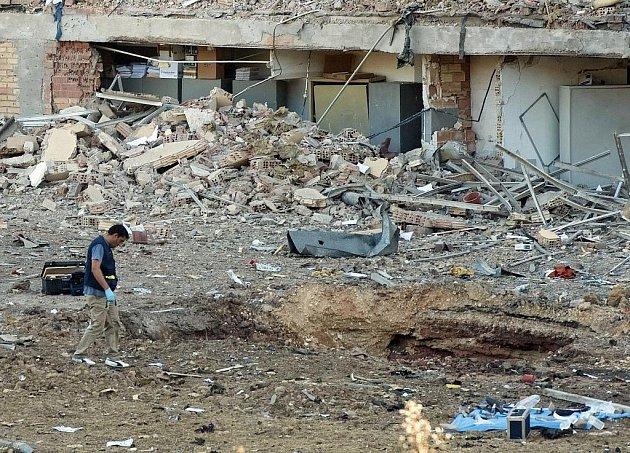 Výbuch nastal kolem čtvrté hodiny ranní a způsobil značné hmotné škody jak na čtrnáctipatrové budově Civilní gardy, tak na okolních domech.