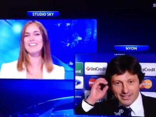 Sportovní ředitel PSG Leonardo požádal přítelkyni a moderátorku italské televize Annu Billóovou.