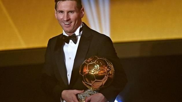 Zlatý míč 2015 a vítěz Lionel Messi