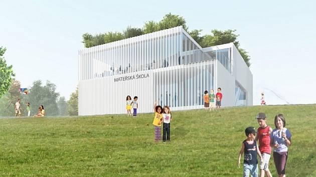 Modulární školka upravená z pavilonu EXPO2015