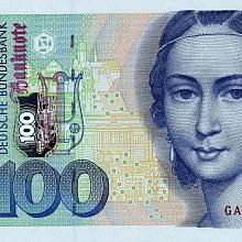 Clara Schumannová na stomarkové bankovce
