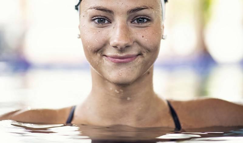 Ve vodě je Barbora Seemanová jako doma. Po olympiádě vydržela neplavat jeden jediný týden