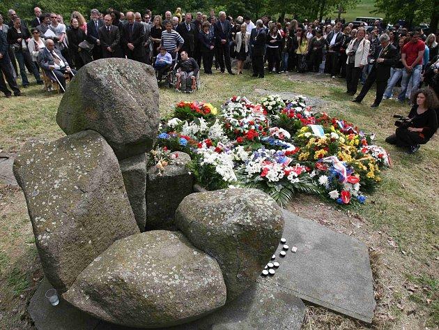 Památník v Letech. Ilustrační foto