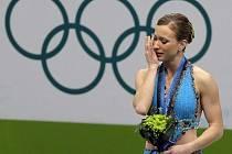 Joanie Rochettová vybojovala bronz, který věnovala své zesnulé mamince.