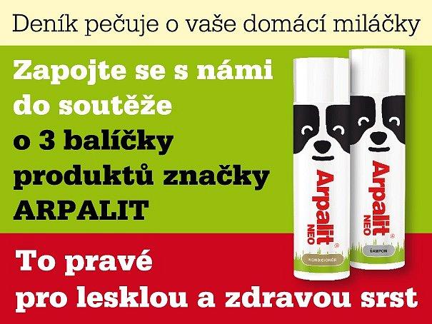 Zapojte se s námi do soutěže o 3 balíčeky produktů značky ARPALIT.