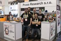 Tým Prusa Research, Josef Průša zcela vlevo