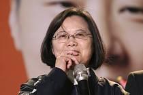 Prezidentka Tchaj-wanu Cchaj Jing-wen