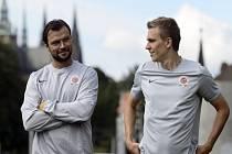 Posily Sparty Tomáš Ujfaluši (vlevo) a Bořek Dočkal.