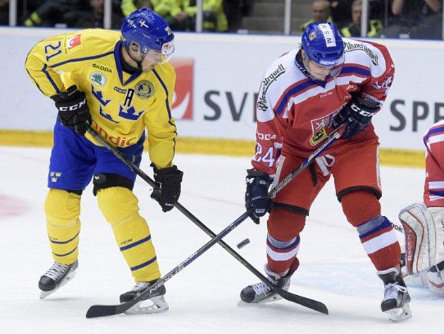 Tomáš Kundrátek (vpravo) a Jimmie Ericsson ze Švédska.