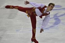Michal Březina na mistrovství Evropy.