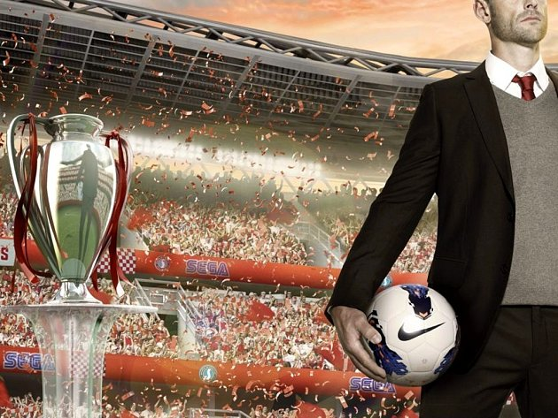 Počítačová hra Football Manager 2014.