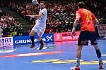 Mistrovství Evropy házenkářů ve Vídni, čtvrtfinálová skupina, utkání Španělsko - ČR