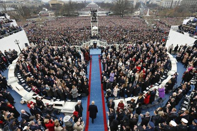 Inaugurace Donalda Trumpa.
