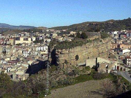 Sicilské město Corleone.